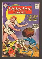 "Detective Comics #278 - ""The Man Who Became A Giant!"" - 1960 (Grade 6.5) Wh"
