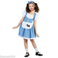 GIRLS DOROTHY FAIRYTALE FANCY DRESS COSTUME WIZARD OZ STORYBOOK BOOK WEEK DAY