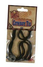 Wild West Western Party Fancy Dress Cowboy Boots Necktie Bootlace Tie