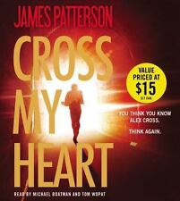 Alex Cross: Cross My Heart by James Patterson (2014) NEW 6 CDs, Abridged