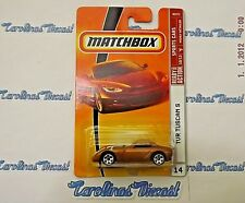 "VHTF! 2009 Matchbox #14 Sports Cars (golden) ""TVR Tuscan S"" ~ V5"