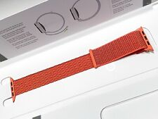 Genuine Apple Watch 3 4 5 Sport Loop Band 42mm 44mm Nectarine Orange MTMC2AM/A