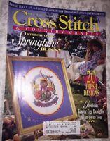 Cross Stitch & Country Crafts  Magazine - March / April 1994 -20 Fresh Designs