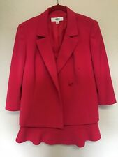 BEAUTIFUL Pink LE SUIT  2-PC BLAZER JACKET & DRESS SUIT Size 10P