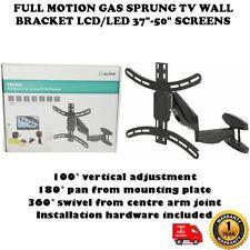 """Full motion gaz ressorts tv support mural pour écran lcd/led 37"""" - 50"""" écrans"""