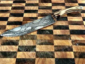 damascus knife Harley Davidson Chain
