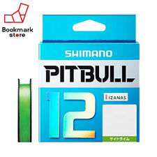 "NEW"" Shimano Pitbull X12 Lime Green 150m 23.4lb/10.6kg #1.0 Braided PE Line JP"
