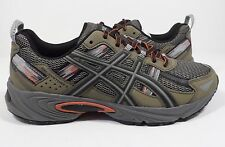ASICS Men's Gel-Venture 5 Trail Runner Dusky Green/Black/Cinnamon 7.5 M US