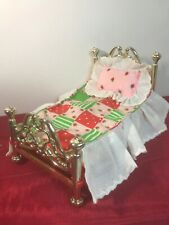 Strawberry Shortcake BED Mattress Pillow Bedspread Complete Berry Happy Home