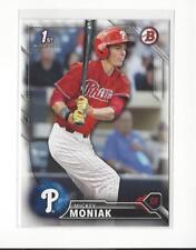 2016 Bowman Draft #BD1 Mickey Moniak Phillies