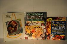 Secrets of Fat Free Baking, Great Tasting Low Fat Recipes, Luscious Low Fat Fav.