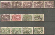 Deutsches Reich vanaf 219 gestempeld  c.w.  €  176,80