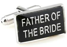 Father Of The Bride Cufflinks Reception Wedding Fancy Gift Box Free Ship USA