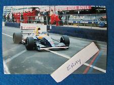 More details for original press photo - nigel mansell - british grand prix 1991 - williams - a