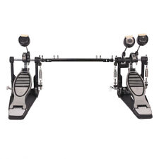 Drum Pedal Double Kick Bass Dual Foot Kick Pedal Percussion Single Chain Drive