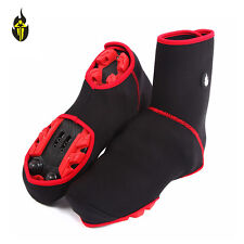 Cycling Sport Shoe Covers Winter Windproof Bicycle Thermal Overshoes Reflective