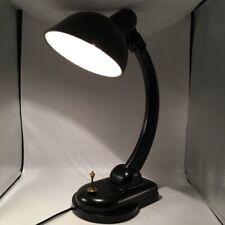 Soviet NKVD KGB Carbolite Electric Table Lamp Black RARE Collectible USSR Desk
