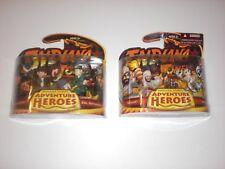 Indiana Jones - RARE Adventure Heroes Play Sets - Sealed Brand NEW!!!