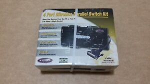 Belkin 4 port bitronic parallel switch kit, Model F1U126uKit
