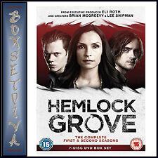 HEMLOCK GROVE - COMPLETE SEASONS 1 & 2   *BRAND NEW DVD***