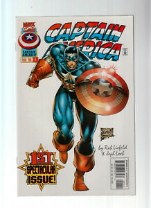 Captain America US Comics No. 1 - 12 = 12 Hefte Marvel 1996 (0-1)