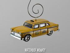 Sunshine Taxi Company TV Show NYC New York City Custom Christmas Ornament 1/64