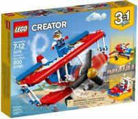 Lego Creator Daredevil Stunt Plane 31076 Building Kit 200 Pcs
