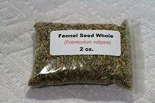 2 oz. Fennel Seed, Whole (Foeniculum vulgare)