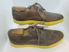 Cole Haan Men's Walking Shoes Olive Leather Size 12M