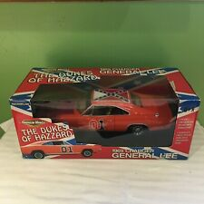 ERTL AMERICAN MUSCLE DUKES OF HAZZARD GENERAL LEE RACE DAY VERSION  1:18 SCALE