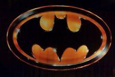 VINTAGE BATMAN POSTER 1989 MOVIE VERSION OF LOGO 23X35 TIM BURTON KEATON RARE
