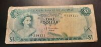 1974 - The Central Bank Of The Bahamas - 1 Dollar Banknote, Serial Prefix B1
