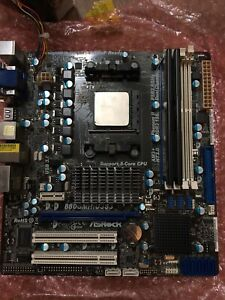 ASRock 880GMH/U3S3 Mothboard, AMD Athlon 2 And 8GB Corsair RAM
