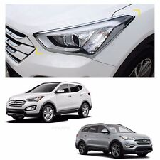 Head Lamp Garnish Molding Trim for HYUNDAI Santa Fe XL 2013-2017