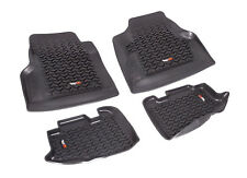 Floor Liners Mats Kit Front & Rear for Jeep Wrangler 97-06 12987.10 Rugged Ridge