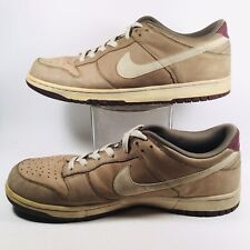 c8f3bee7bcc7 Nike VTG 2007 Dunk Low 6.0 3442 Mens Basketball Shoes Sneakers Khaki Brown  US 13