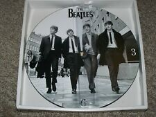 """THE BEATLES WALL CLOCK 13.5"""" DIA  2012 APPLE CORPS LTB BY VANDOR"""