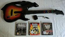 GUITAR HERO PS3 GUITARE DONGLE 3 JEUX