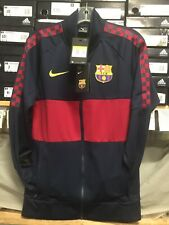 nike fc barcelona Track Jacket 2019/20 Navy Size  Extra Large   Only
