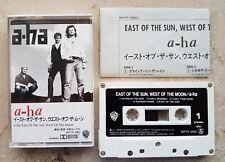 a-ha JAPAN ★ EAST of the SUN WEST of the MOON ★ ULTRA RARE CASSETTE 1990 AHA