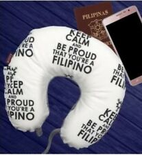 Home deals Neck pillow Proud to be Filipino