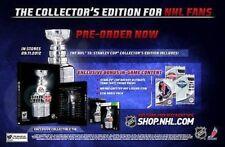 XBOX 360 GIOCO NHL 13 2013 Stanley Cup Collector's Edition hockey su ghiaccio