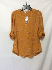 NWT Express Floral Top Blouse - S ( Measurement In Pic )