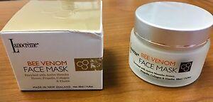 NIB Lanocorp Lanocreme Bee Venom Face Mask Manuka Honey 1.75 oz 50 ml