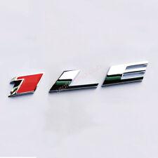 1x OEM 1LE Emblem Alloy 3D Badge for GM 2010-18 CAMARO 1LE Chrome Red F1u Grille