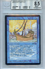 MTG Arabian Nights Merchant Ship BGS 8.5 NM-MT+  Card 0438