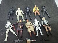 "Lot Of 10 3.75"" inch Action Figures Kenner Hasbro Star Wars - stormtroopers, dar"