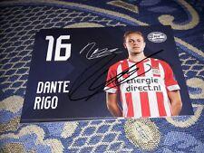 Signierte AK Dante Rigo PSV EINDHOVEN NEU MEGA RAR