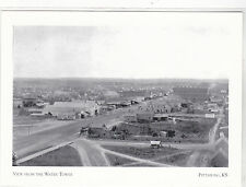 "*Postcard-""View of Pittsburg From Water Tower""-1887- *Pittsburg Kansas- (#196)"