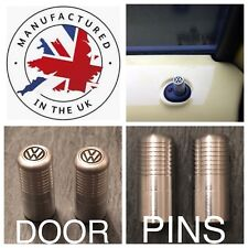 VW T5 T6 Silver Door Lock Pull Pins Precision UK Machined And Laser Engraved